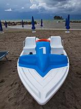 """""""Numero 1"""" (sulla spiaggia de la Marinella a Palinuro)."""